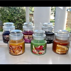 NEW six Mainstays assorted candles